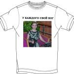 печать на футболках за час