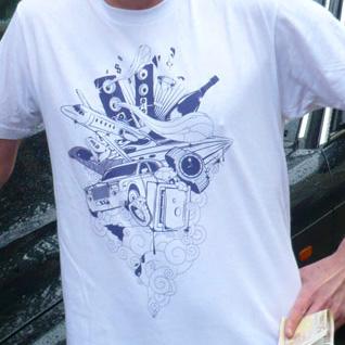 надписи на футболках фото
