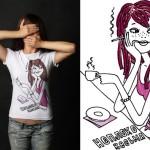 футболки с надписями для девочек