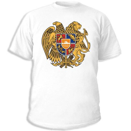 футболки с надписью армения