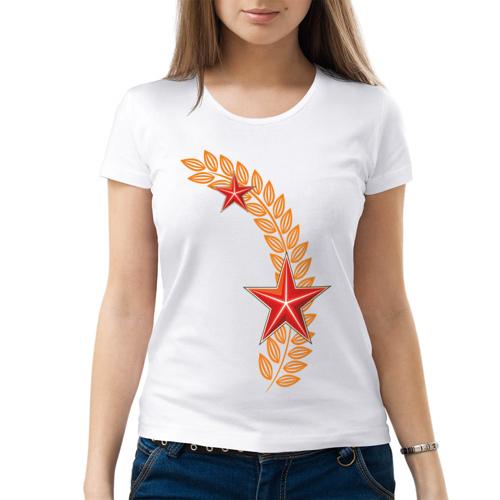 Изображение Женская футболка С днем победы — 9 мая