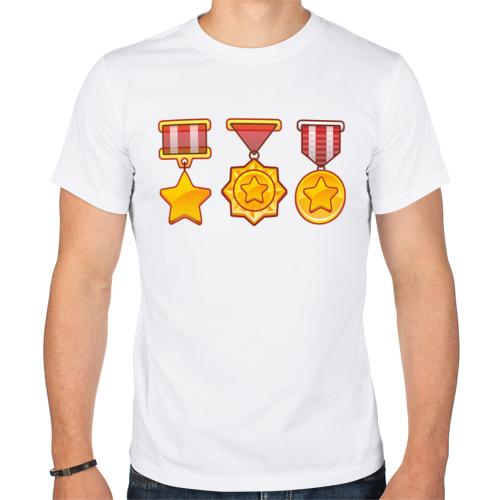 Изображение Ордена на груди