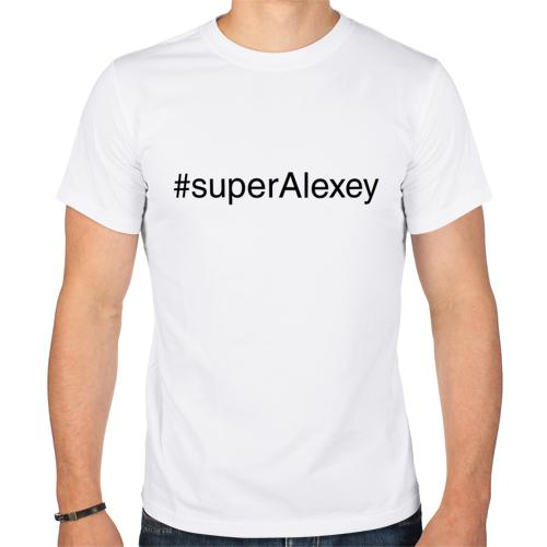 Изображение #superAlexey - майка для тех, у кого имя Алексей