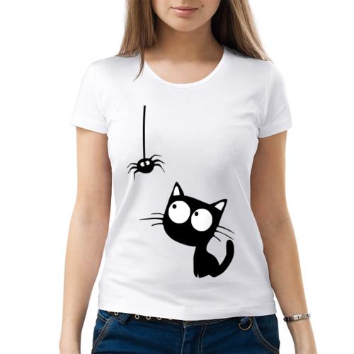Изображение Кот и паучок