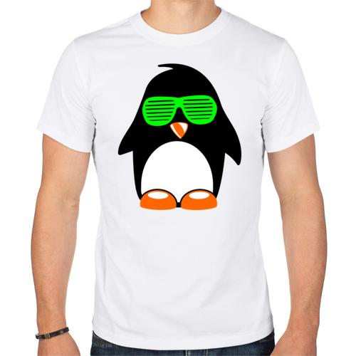 Изображение Пингвин в очках жалюзи