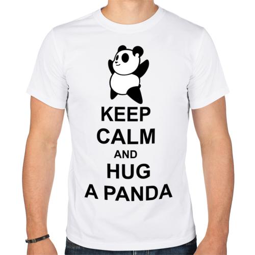 Изображение keep calm and hug a panda