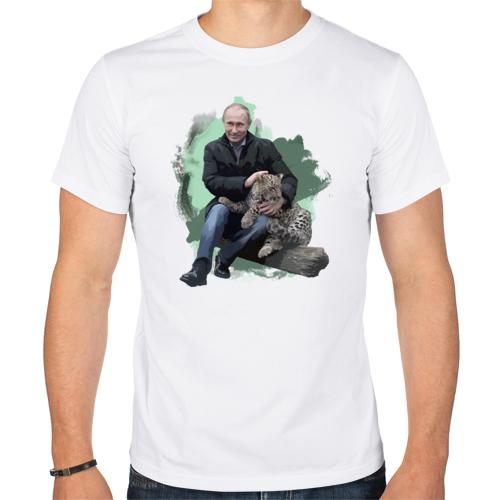 Изображение Путин и леопард