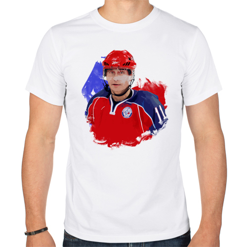 Изображение Путин-хоккеист