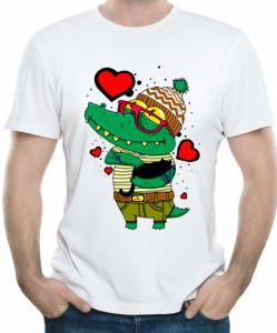 Влюбленный крокодил
