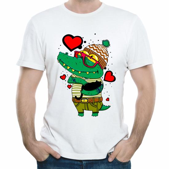 Изображение Влюбленный крокодил