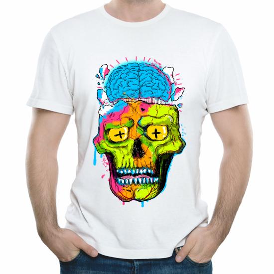 Изображение Радужный череп