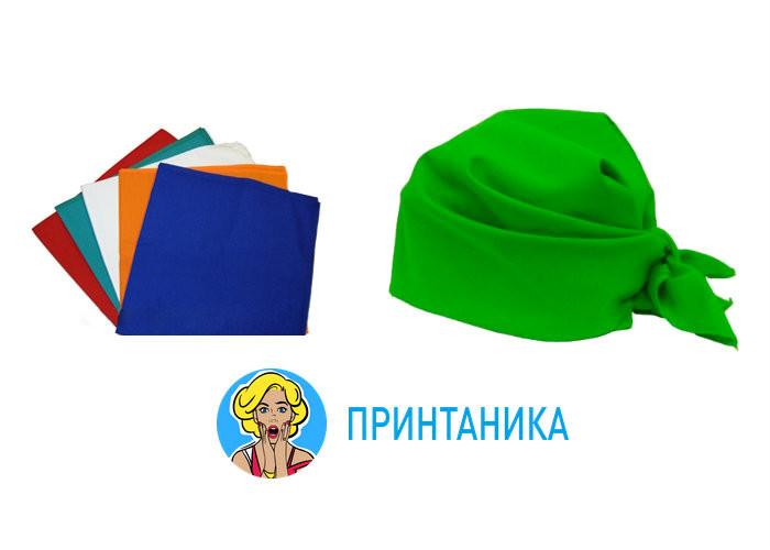 фото промо банданы на заказ от 1 шт в Москве принтаника