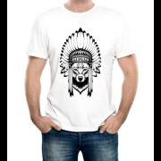 Изображение Дизайнерская футболка с изображением волка