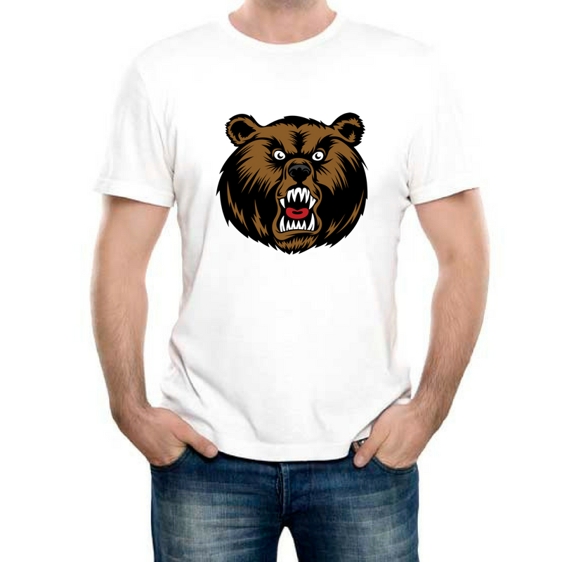 Изображение Футболка с медведем