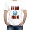 Изображение Футболка Железный человек с реактором