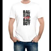 """Изображение Футболка мужская с надписью """"Плохие девочки для плохих парней"""""""
