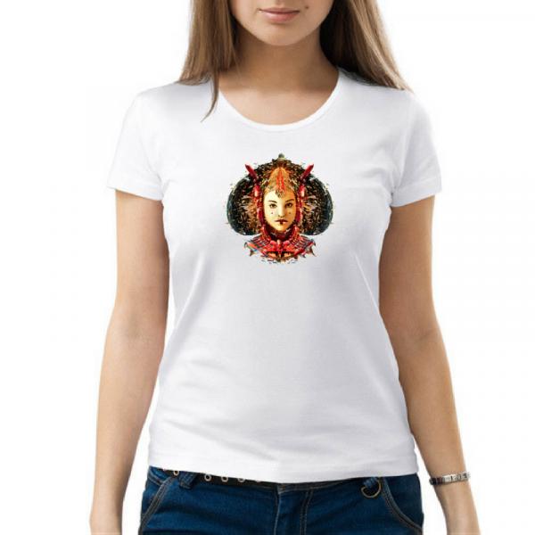 """Изображение Женская футболка """"Звездные войны"""""""