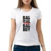 Изображение Женская футболка с надписью: Плохие девочки для плохих мальчиков