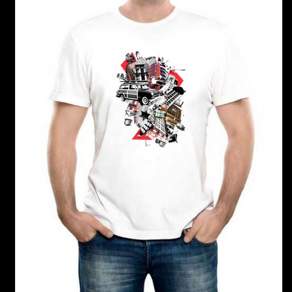 Изображение Модная футболка с принтом