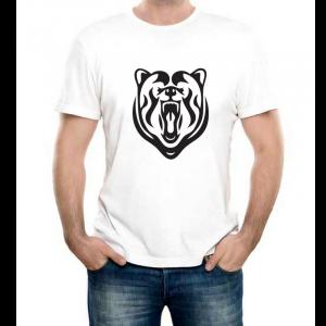 Изображение Футболка мужская с медведем