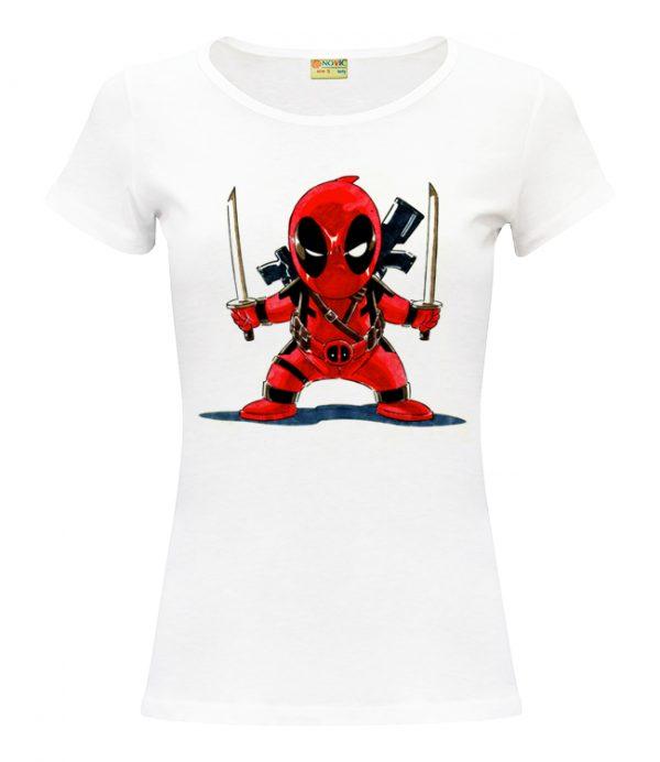 Изображение Женская футболка Marvel - Дедпул