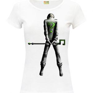 Изображение Женская футболка DC - Загадочник