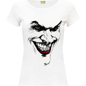 Изображение Женская футболка DC - Джокер