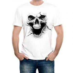 Изображение Мужская футболка с черепом