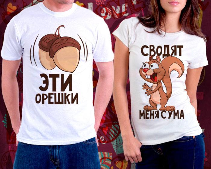футболки с надписями - как заказать уникальную в Москве в магазине Принтаника