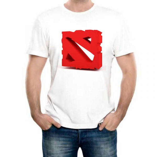 Изображение Мужская футболка Dota лого