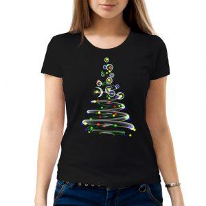Изображение Женская футболка Новогодняя елка