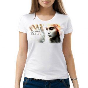 Изображение Женская футболка Игра Престолов - Дейнерис Таргариен