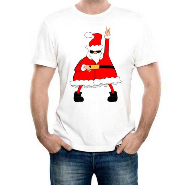 Изображение Мужская футболка Крутой Санта