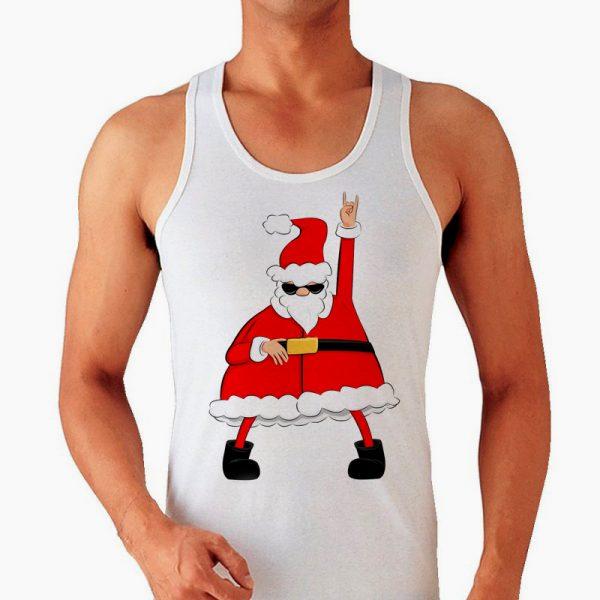 Изображение Мужская майка Крутой Санта