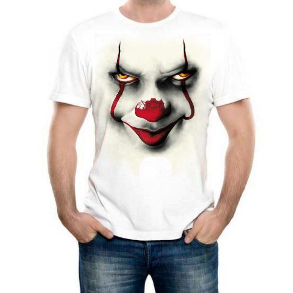 Изображение Мужская футболка ОНО с клоуном
