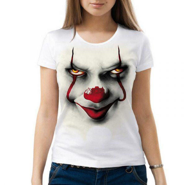 Изображение Женская футболка с клоуном ОНО