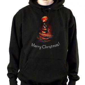 Изображение Мужская толстовка Рождественская елка
