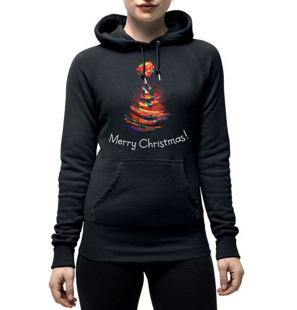 Изображение Женская толстовка Рождественская елка
