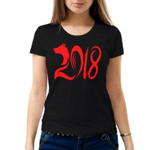 Изображение Женская футболка Собака 2018