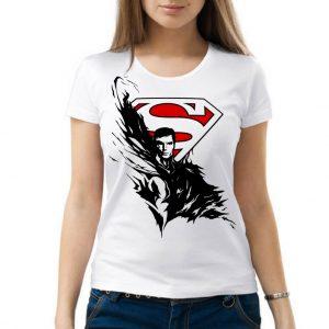 Изображение Женская футболка DC - Супермен