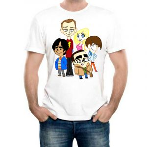 Изображение Мужская футболка Теория Большого Взрыва
