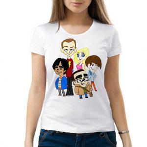 Изображение Женская футболка Теория Большого Взрыва