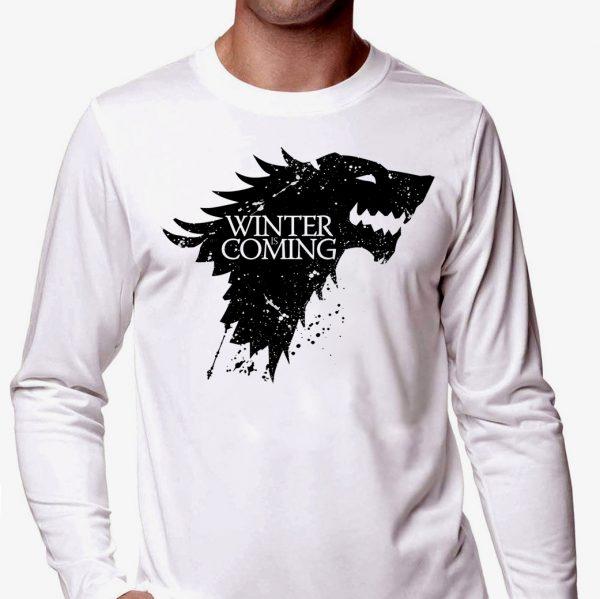 Изображение Мужская футболка Игра Престолов - Winter is Comin