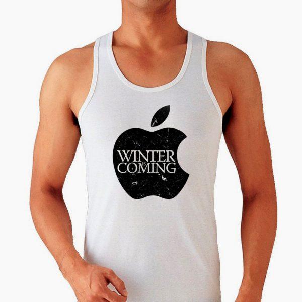 Изображение Мужская майка Apple Зима Близко - Игра Престолов
