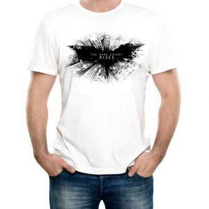 Изображение Мужская футболка Batman Dark Knight Rises Лого