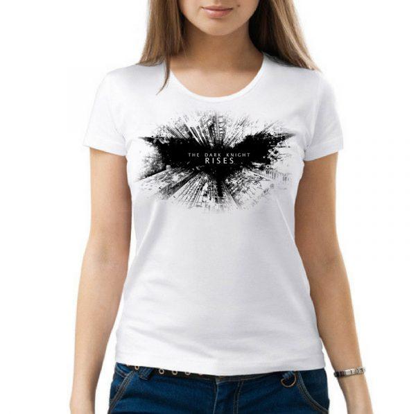 Изображение Женская футболка Batman Dark Knight Rises Лого
