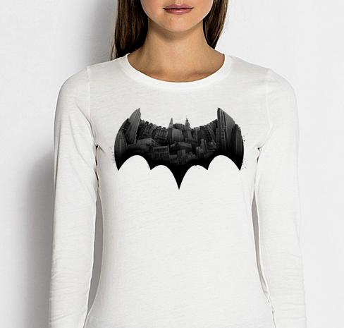 Изображение Женский лонгслив Batman Готэм Лого
