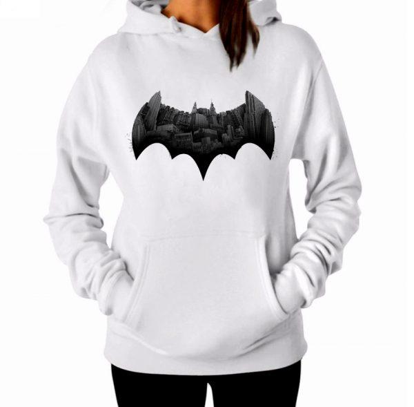 Изображение Женская толстовка Batman Готэм Лого