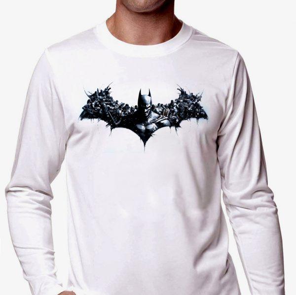 Изображение Мужской лонгслив Персонажи Batman Лого