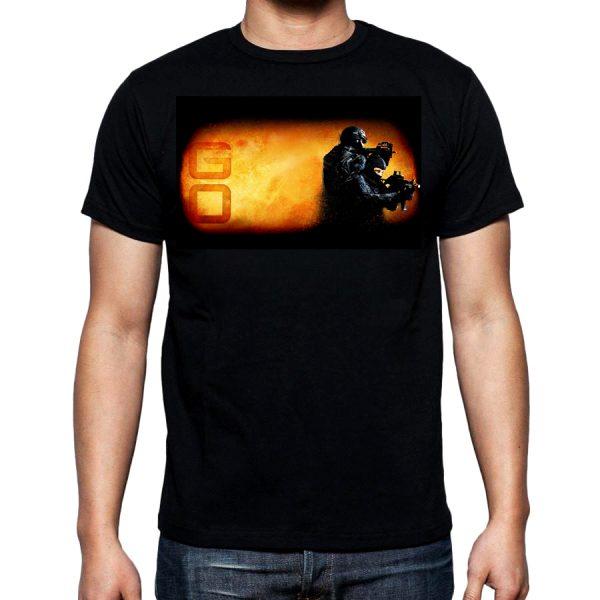 Изображение Мужская футболка Counter Strike GO Спецназ